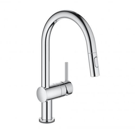 Grohe Minta Touch Electronic single lever sink mixer , chrome, colour: chrome - 31358002