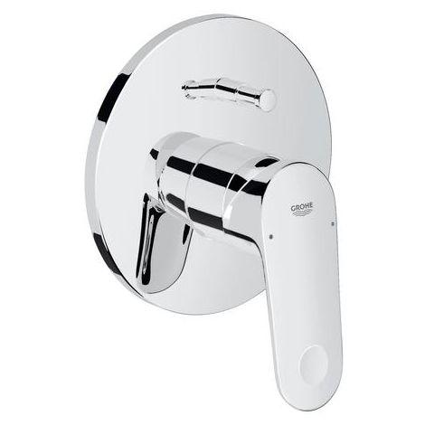 Grohe Mitigeur bain douche à une main Europlus kit de montage complet, changement de bain/douche automatique - 19536002