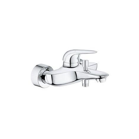 Grohe Mitigeur bain douche Eurostyle à une main, béquille fermée, Coloris: Blanc Lune - 23726LS3
