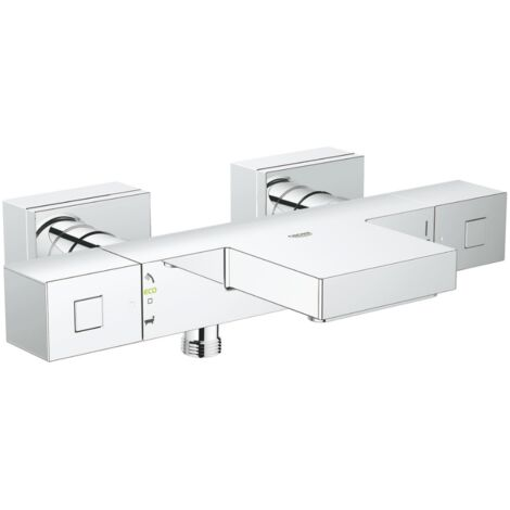 Grohe - Mitigeur bain-douche thermostatique Grohtherm cube
