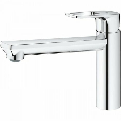 GROHE - Mitigeur cuisine Grohe Bauloop bec tube pivotant