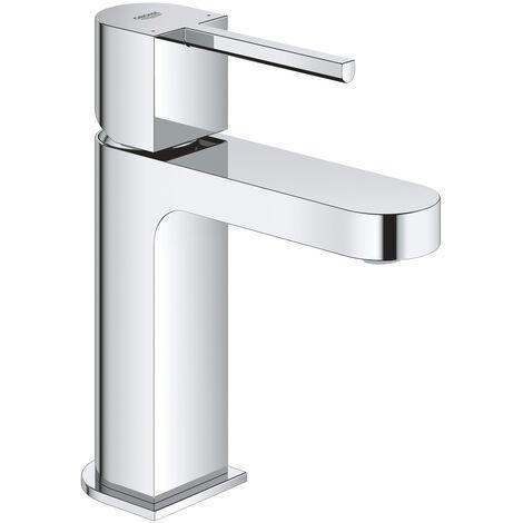 GROHE Mitigeur lavabo monocommande Plus 33163003 - Bec fixe - Limiteur de température - Limiteur de débit - Chrome - Taille S