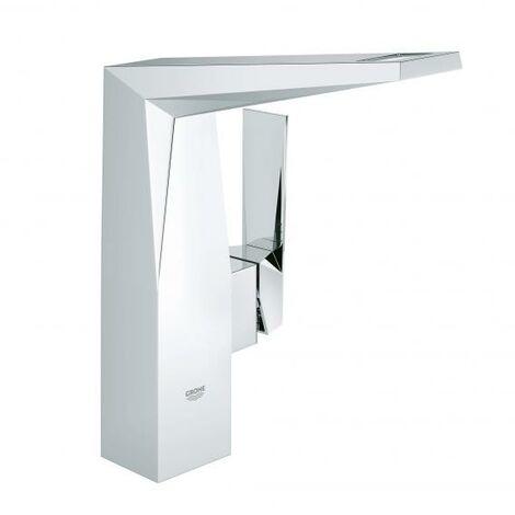Grohe Mitigeur monocommande de lavabo Allure Brilliant, taille L, sans kit de vidange - 23112000