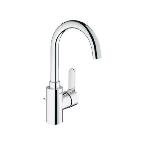 Grohe Mitigeur monocommande de lavabo Cosmopolitan Eurostyle, taille L avec vidage escamotable, avec bec orientable - 23043002