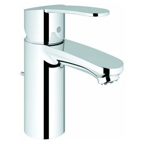 Grohe Mitigeur monocommande de lavabo Cosmopolitan Eurostyle, taille S avec vidage escamotable, pour chauffe-eau ouverts - 33561002