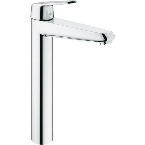 Grohe Mitigeur monocommande de lavabo Eurodisc-Cosmopolitan DN 15, montage monotrou, taille XL, sans vidage, pour lavabos sur pied - 23432000