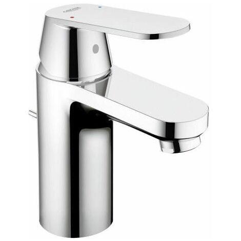 Grohe Mitigeur monocommande de lavabo Eurosmart Cosmopolitan, taille S avec vidage, EcoJoy - 3282500E