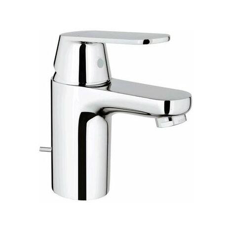 Grohe Mitigeur monocommande de lavabo Eurosmart Cosmopolitan, taille S avec vidage escamotable, pour chauffe-eau ouverts - 32955000