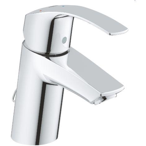 Grohe Mitigeur monocommande de lavabo Eurosmart Taille S 23372002 | Chromè