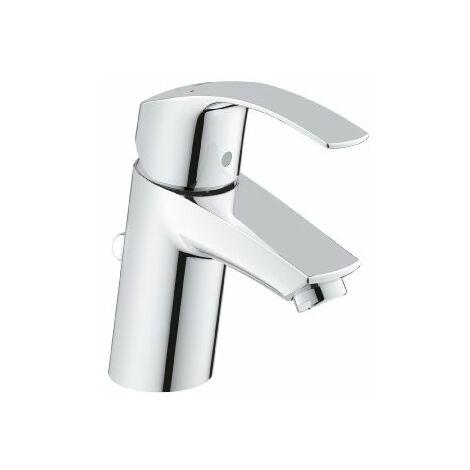 Grohe Mitigeur monocommande de lavabo Eurosmart, taille S avec vidage, EcoJoy - 33265002