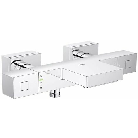 GROHE Mitigeur thermostatique bain/douche GROHTHERM CUBE