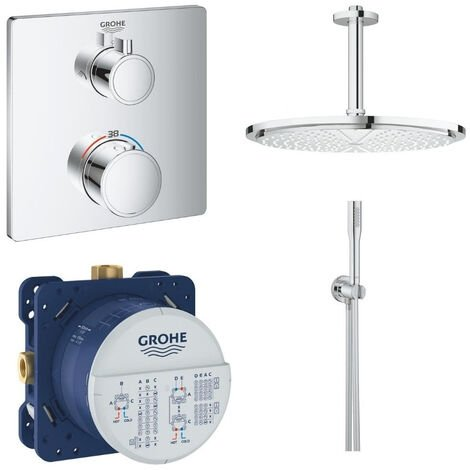 GROHE - Mitigeur thermostatique encastrable Grohtherm