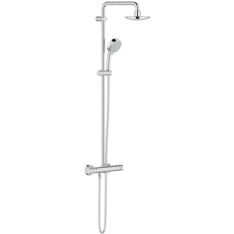 Grohe New Tempesta Cosmopolitan 160 with thermostat for wall mounting (27922000)