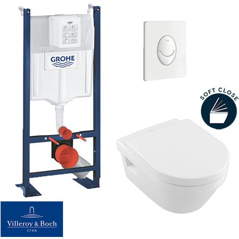 Grohe Pack WC Rapid SL autoportant + cuvette Villeroy&Boch Architectura (ProjectArchitectura-3)