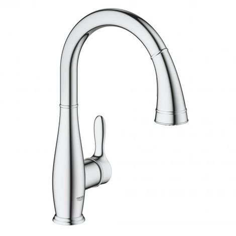 Grohe Parkfield single lever sink mixer, DN 15, swivel pipe spout