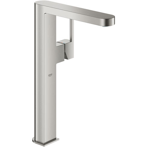 Grohe Plus one-hand basin mixer, DN 15, XL-size, for free-standing washbasins, without pop-up waste