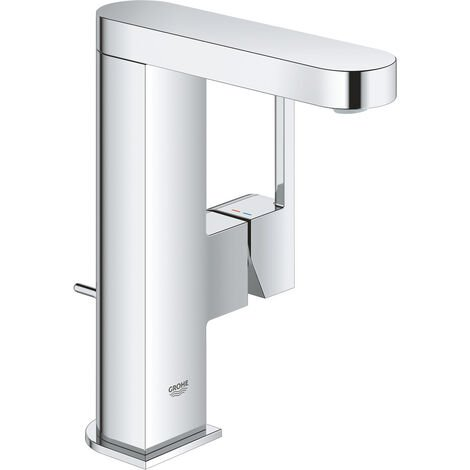 GROHE Plus single lever basin mixer, DN 15 M-size, with pop-up waste