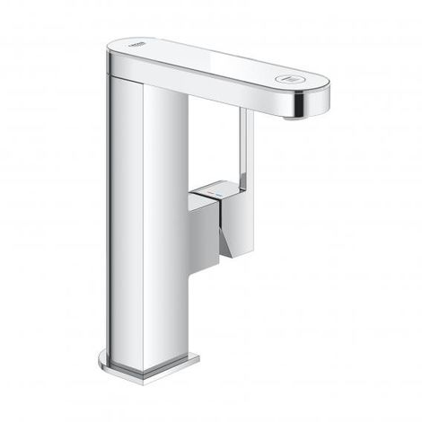 GROHE Plus single-lever basin mixer with digital display, DN 15 M-size