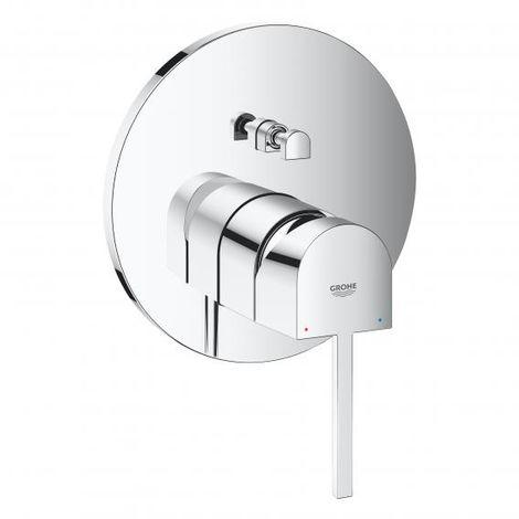 GROHE Plus single lever bath mixer for Rapido SmartBox, 2 consumers