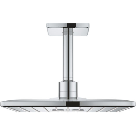 Grohe Rainshower 310 SmartActive Cube Head shower set ceiling 142 mm, 2 sprays (26481000)