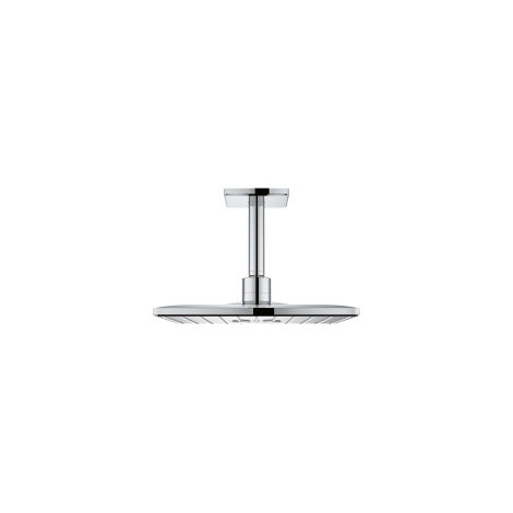 Grohe Rainshower 310 SmartActive Cube overhead shower set Ceiling diffuser 142 mm, 2 spray types