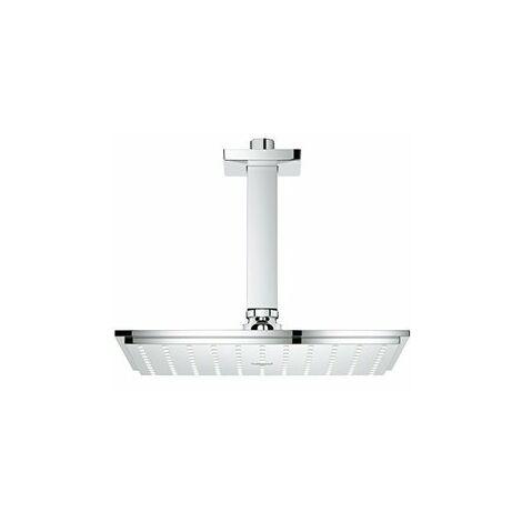 Grohe Rainshower Allure 230, kit de douche plafonnier pour plafond 142 mm, sans restriction d'écoulement - 26055000