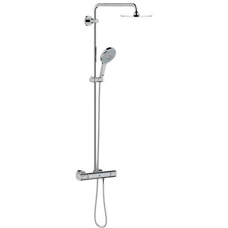 Grohe Rainshower shower system with Cosmopolitan 210 metal head shower and hand shower Power & Soul - 27967000