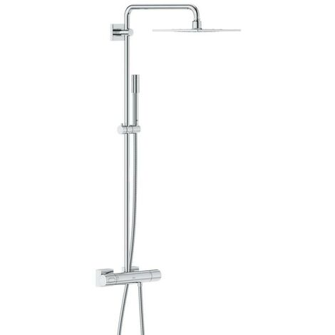 Grohe Rainshower shower system with F-Series 254 metal shower head - 27469000