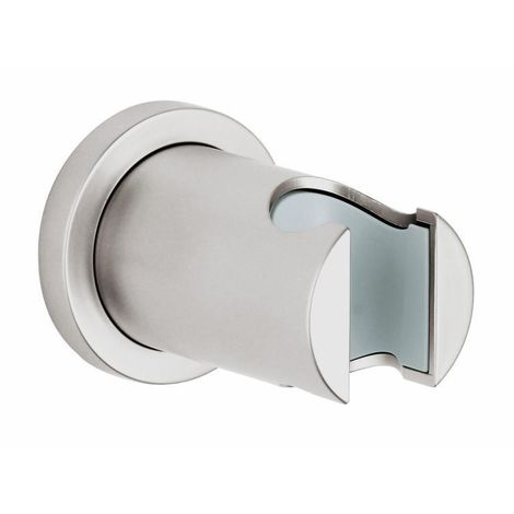 Grohe RAINSHOWER - Support mural pour douchette, supersteel, (27074DC0)