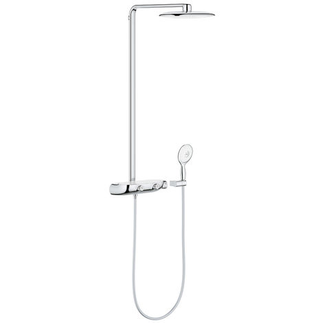 Grohe Rainshower System SmartControl 360 MONO with thermostat for wall mounting
