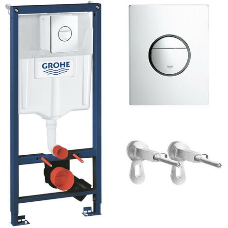 GROHE RAPID SL 3 IN 1 1.13 Wall Hung Toilet Concealed Cistern Frame WC 38860000