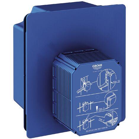 Grohe Unterputz-Rohrbau-Set Rapido U, 37338000, Rohbauset für Urinal, Unterputz, mit Vorabsperrung, für Nass- und Trockenausbau, 21426 1