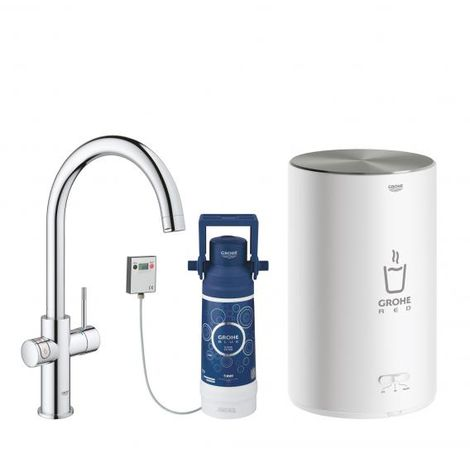 Grohe Red Duo tap and boiler size M, C-spout