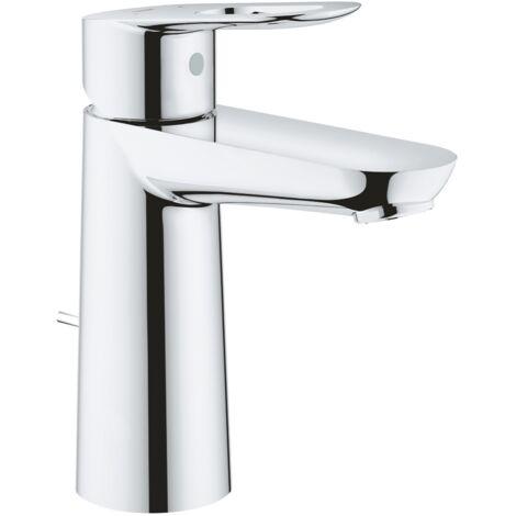 GROHE - Robinet lavabo BauLoop - Taille M - poids:2.3000#==#stock_reel:10#==#code_fabricant:23762000#==#refwholesaler:23762000#==#description:Optez pour le robinet lavabo Grohe BauLoop Taille M pour votre salle de bain. Tous les robinets Grohe sont conçus