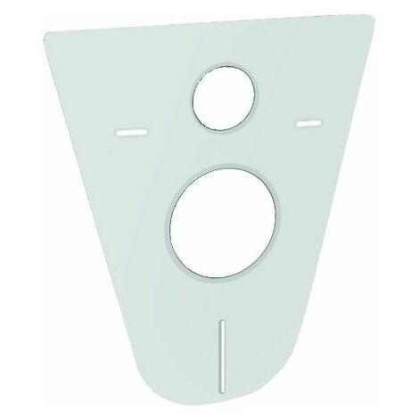 GROHE Schallschutz-Set 37131 für WCmit Schallschutzmatte und Gummihülsen