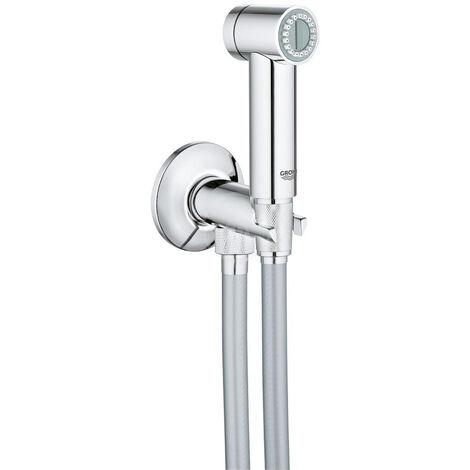 Grohe Sena Trigger Spray 35 Wall holder set with angle valve 1 spray, Chrome (26329000)
