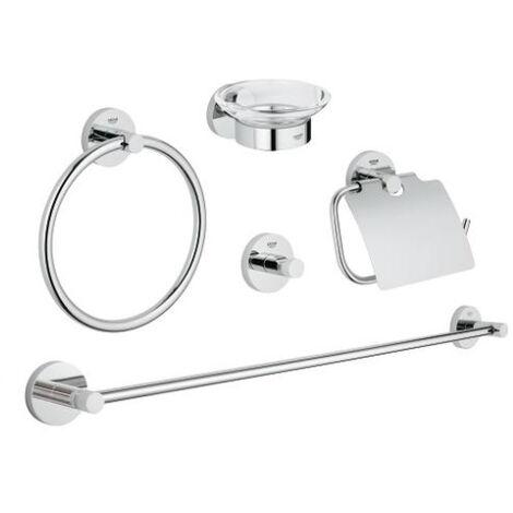 GROHE - Set accessoires Essentials 40344001, chrome