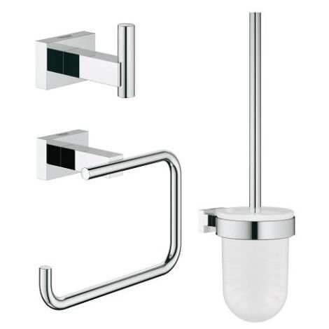 GROHE Set d accessoires Essentials Cube 40757001, chrome