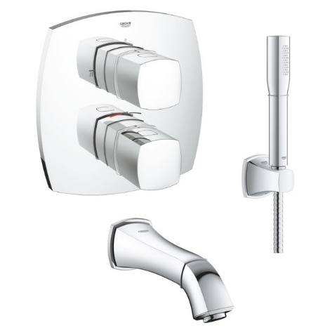 GROHE - Set de bain thermostatique à encastrer Grandera