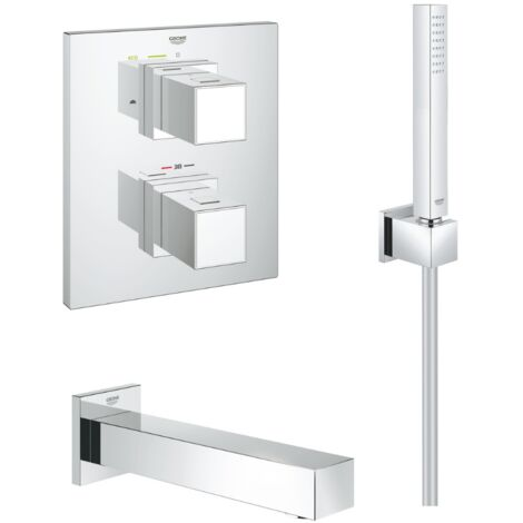 Grohe - Set de bain thermostatique à encastrer Grohtherm