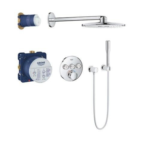 GROHE - Set De douche à encastrer Grohtherm SmartControl 34705000