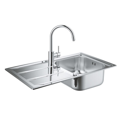 Grohe Set K400 sink and Concetto battery