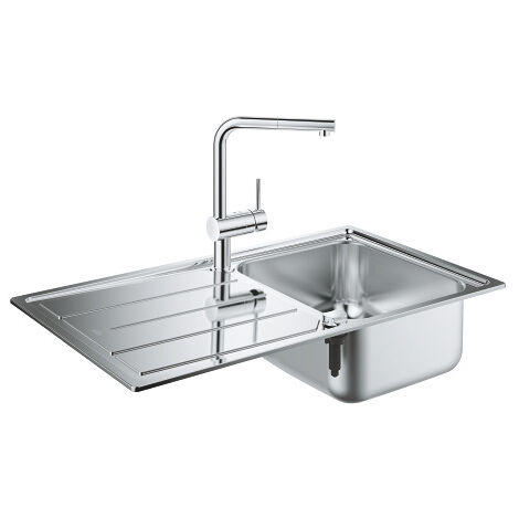 Grohe Set K500 sink and Minta battery