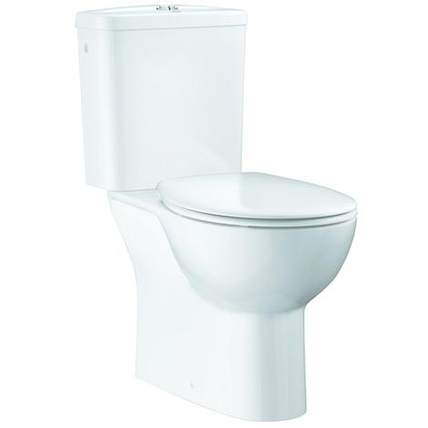 Grohe Set, Stand-WC-Kombination Abgang senkrecht alpinweiß, 39346000