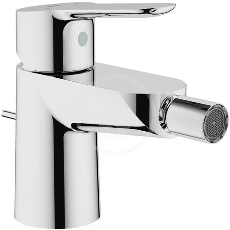 Grohe Single lever bidet battery with drainage, chrome