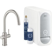 Grohe Sink battery Connected, with cooling device and filtration, supersteel
