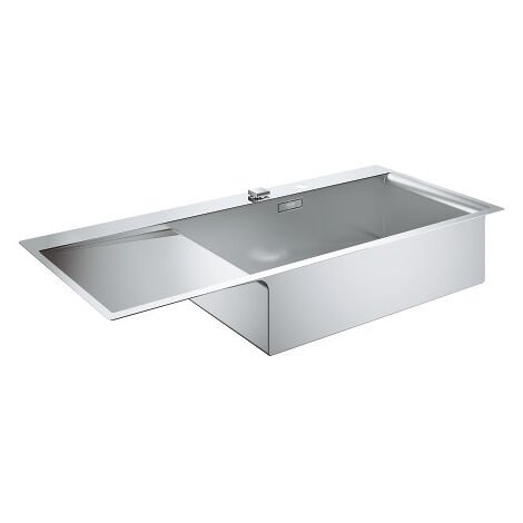 Grohe Sink K1000 with automatic drain, left-sided, 1160x520 mm