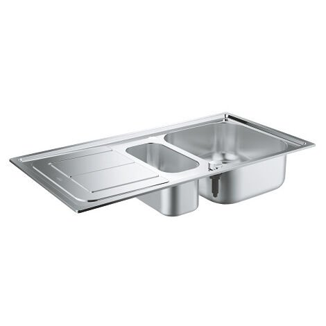 Grohe Sink K300 with automatic drain, 970x500 mm