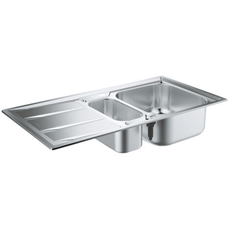 Grohe Sink K400 with automatic drain, 970x500 mm