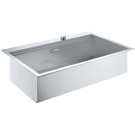 Grohe Sink K800 with automatic drain, 846x560 mm